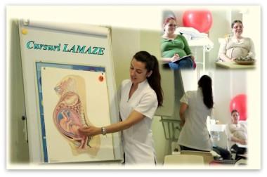 cursuri prenatale Lamaze